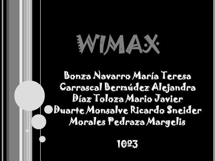 Wimax Slide 2