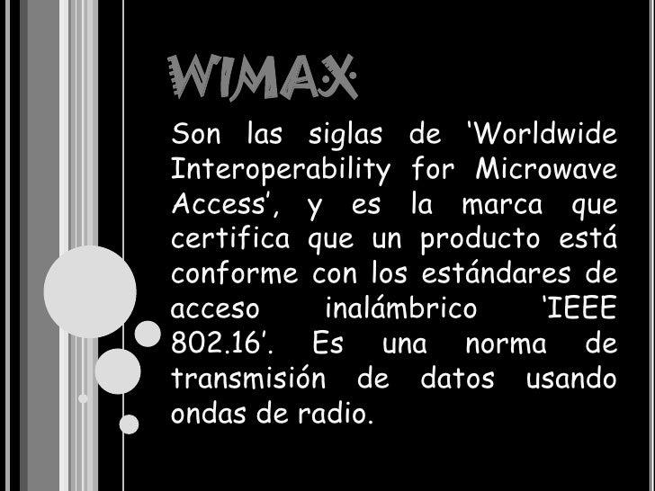 Wimax Slide 3