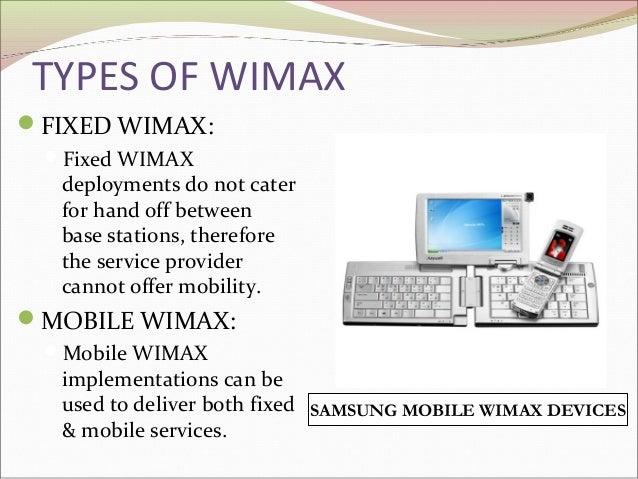 Wireless Internet Service Provider >> Wimax