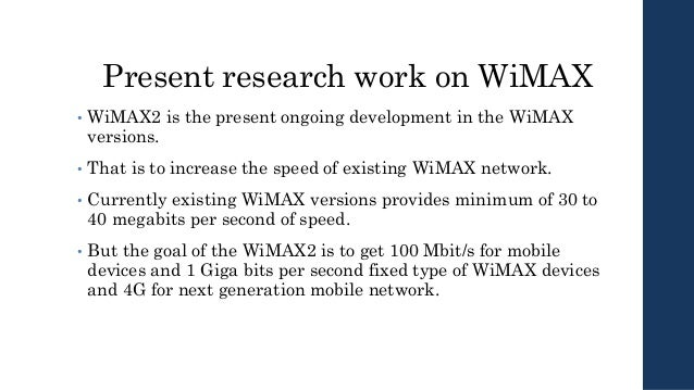 Wireless Broadband, WiMAX, and an EMC Utility case Study