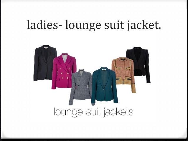 Lounge Suit Dress Code Female