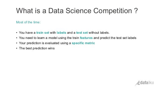 Before Kaggle : from a business goal to a Machine Learning
