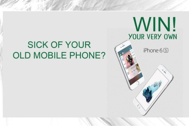 Win A Free Iphone 6 >> Win A Free Iphone 6s