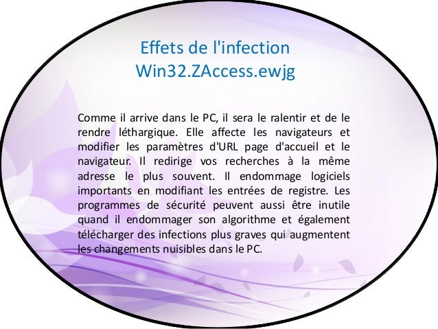 Comment ça se supprimé Sous l'examen des effets néfastes de l'infection Win32.ZAccess.ewjg, vous devez l'enlever dès que p...