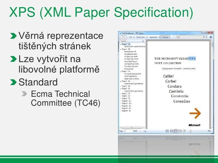XPS – Windows 7                           XPS                                                       Win32        .Net     ...