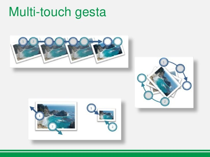 Multi-touch a .Net Framework  WPF:    3.5 update po uvedení Windows 7      Multi-touch, gesture APIs    4.0 release      N...