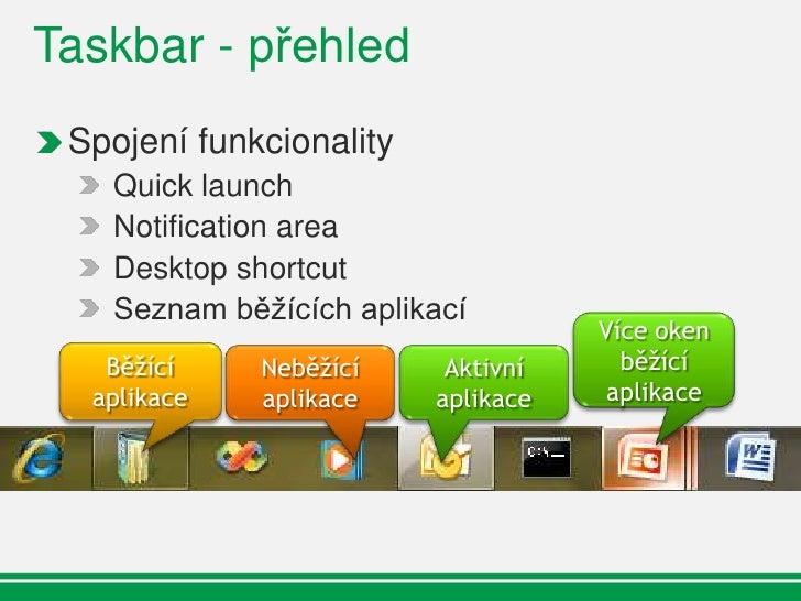 Taskbar - ikonky
