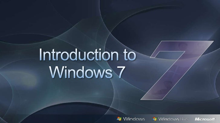 Windows 7  7 scenarios for consumers 7 scenarios for enterprises     Windows 7availability