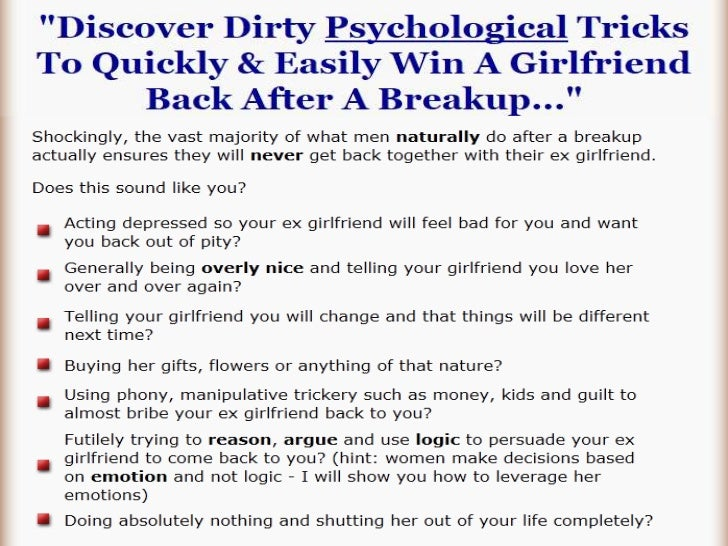 How break up with your girlfriend
