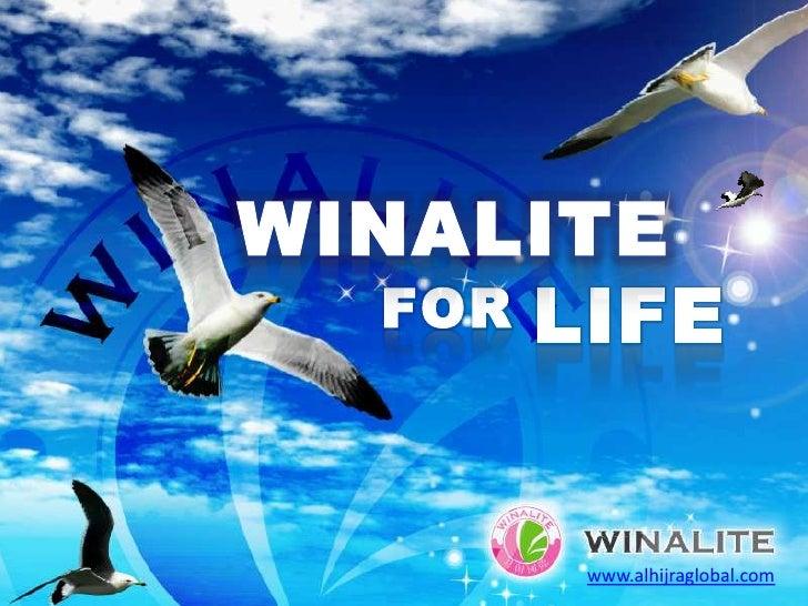 WINALITE<br />LIFE<br />FOR<br />www.alhijraglobal.com<br />
