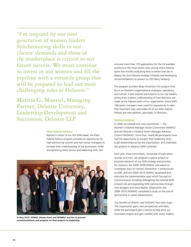 Deloitte consulting llp annual report