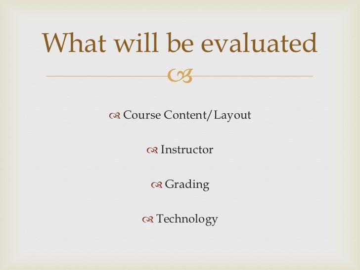 Winchester Tec969 Online Program Evaluation Proposal