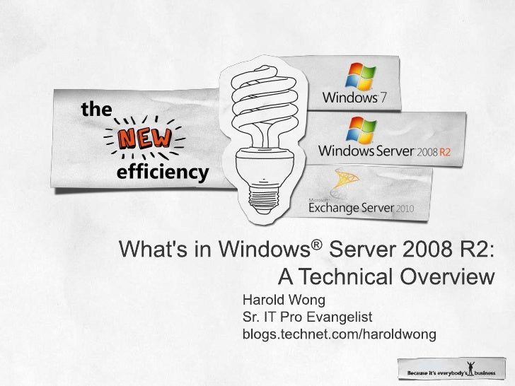 Win Connections   Technical Overview (Harold W)