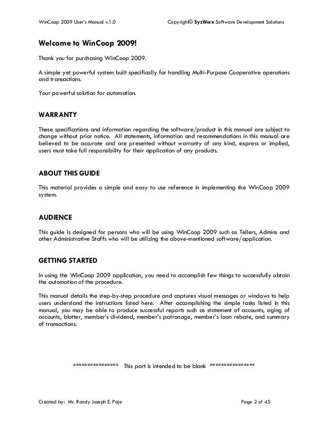 manual systems for multi purpose cooperative 11 what is the purpose of this chapter  officials for grant and cooperative  agreement administration, policy, oversight, systems, and training.