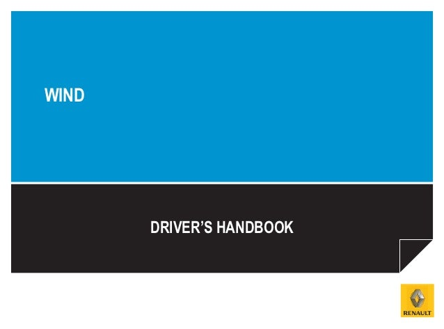 WIND       DRIVER'S HANDBOOK