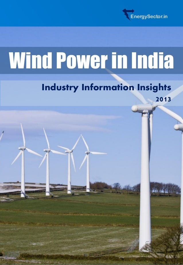 EnergySector.in Wind Power in India Industry Information Insights 2013