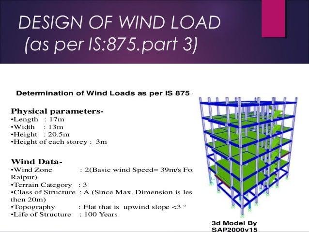 Wind analysis of structure by SHYAMSUNDAR BOSU,INDIA