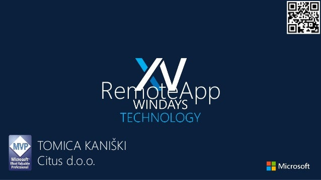 RemoteApp TOMICA KANIŠKI Citus d.o.o.