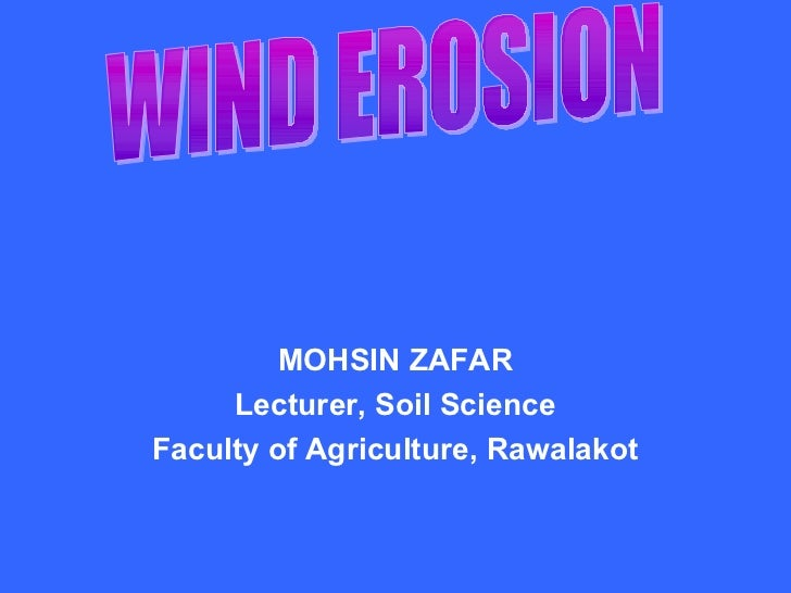 MOHSIN ZAFAR     Lecturer, Soil ScienceFaculty of Agriculture, Rawalakot