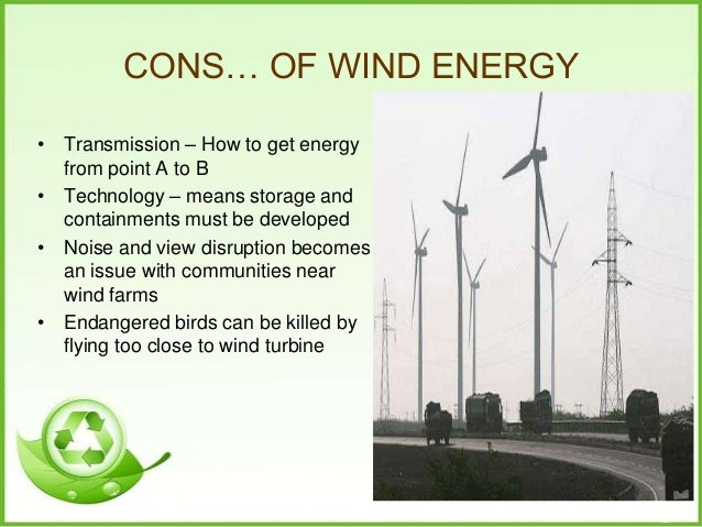 Pros and Cons of Wind Power