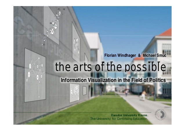 Danube University Krems. The University for Continuing Education. the arts of the possible Florian Windhager & Michael Smu...