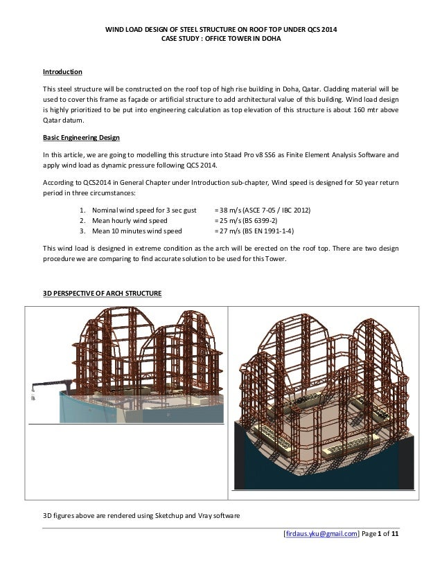 WIND LOAD DESIGN OF STEEL STRUCTURE ON ROOF TOP UNDER QCS 2014 CASE Ibc Wind Sd Map on