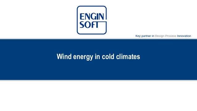Wind energy in cold climates
