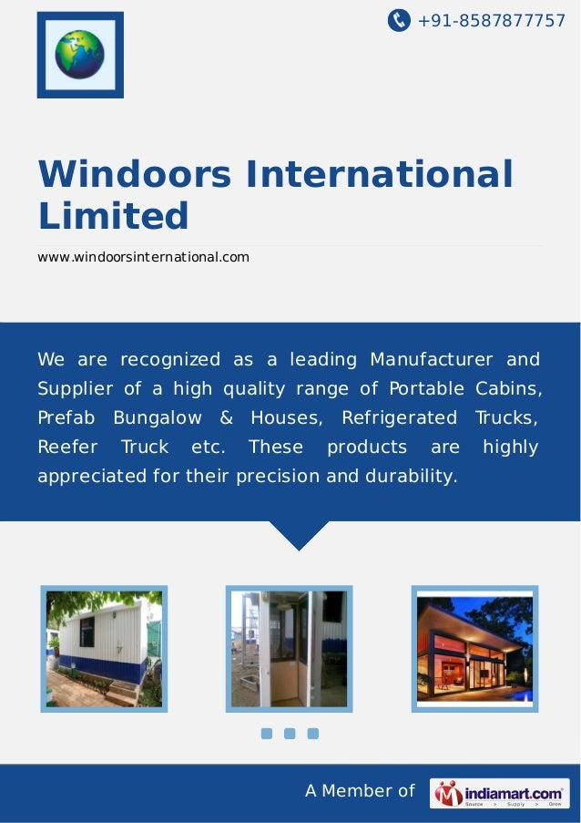 +91-8587877757  Windoors International Limited www.windoorsinternational.com  We are recognized as a leading Manufacturer ...