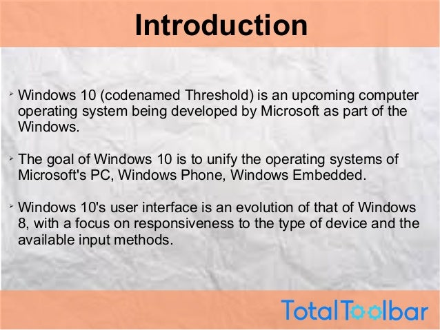 new features of windows 10