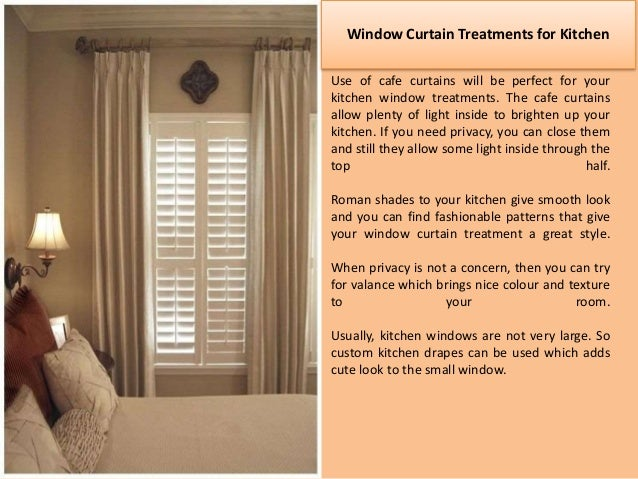 Tips For Buying Window Curtain Treatments; 4.