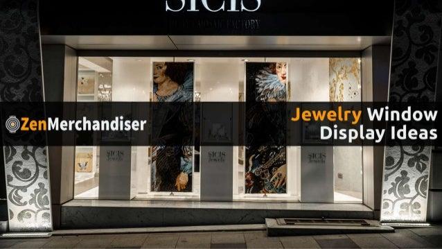 100 Jewelry Window Displays – Ideas & Designs