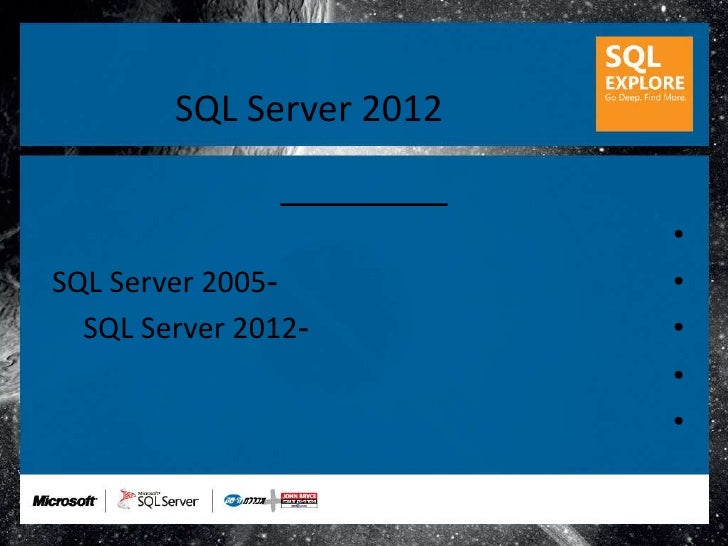 Sql explore 2012 geri reshef 2012 windows functions for Window functions