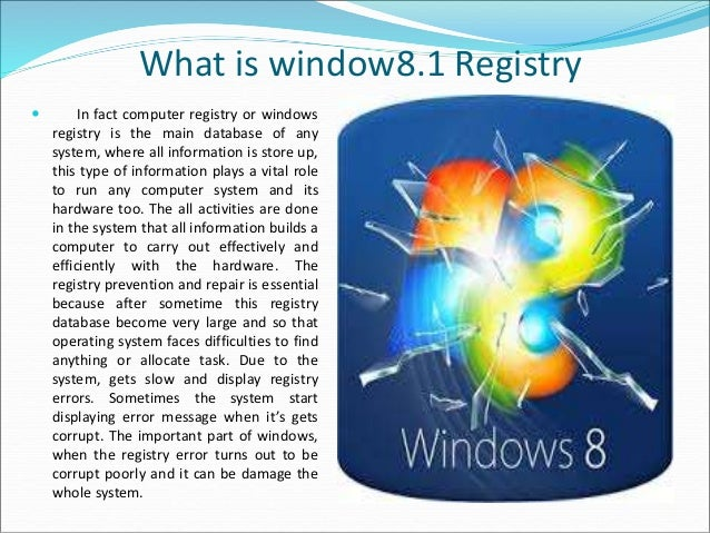 how to fix windows registry