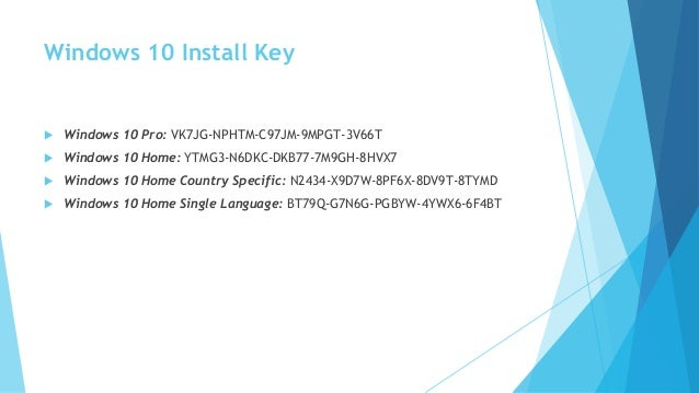 windows product key for windows 10 pro free