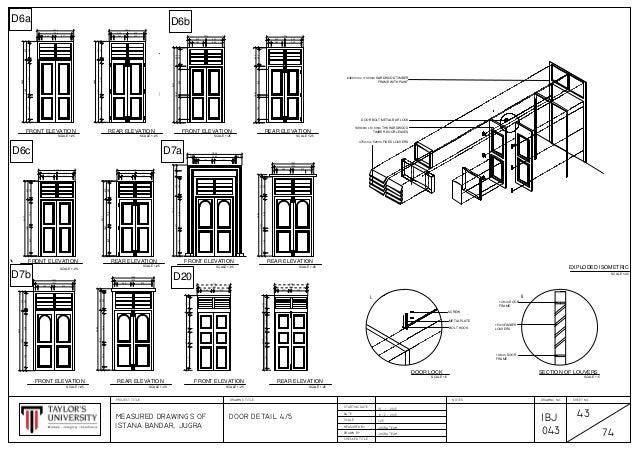 Istana Bandar Jugrah Window Details