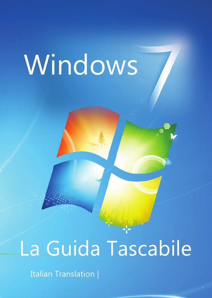 Windows     La Guida Tascabile  Italian Translation  