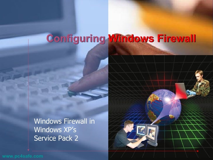 how to change firewall settings on windows xp