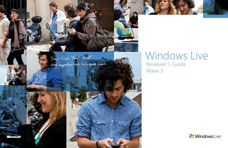Windows Live Reviewer's Guide Wave 3