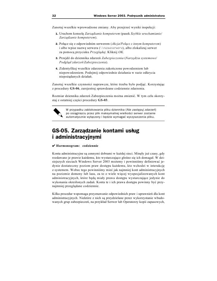 administration windows server 2003 pdf