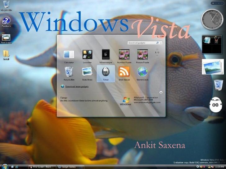 Microsoft Vista Windows   Vista Ankit Saxena