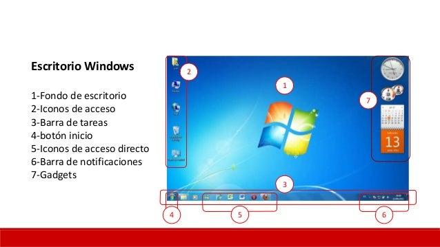 Windows 7 introducci n - Iconos para escritorio windows ...