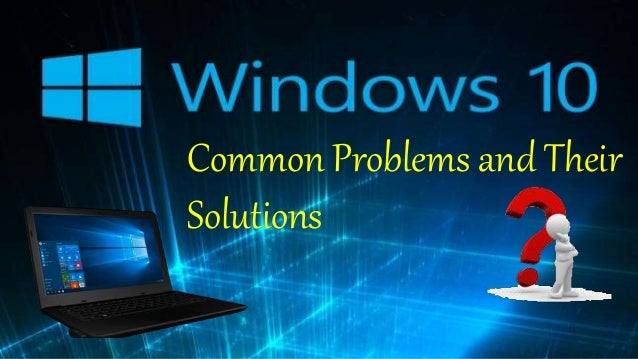common windows 10 problems