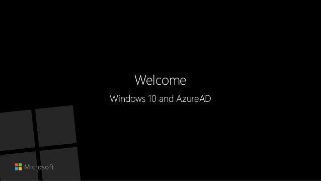 Windows 10 education azure ad