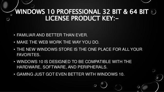 windows 10 digital license vs product key
