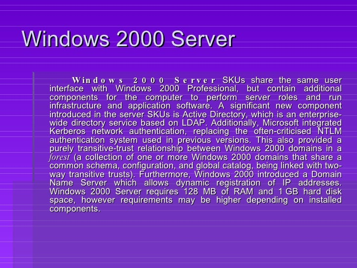 java  for windows 2000