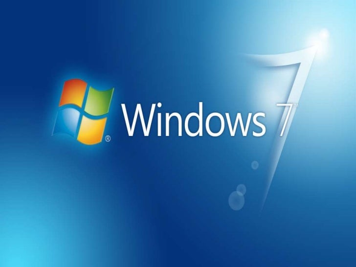 Windows 7.