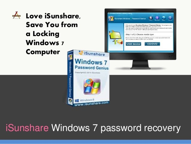 reset windows 7 password with cd or software