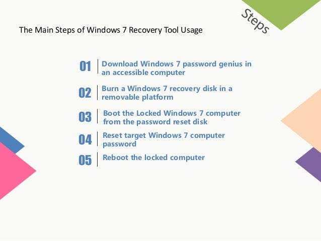 where to download password reset disk windows 7