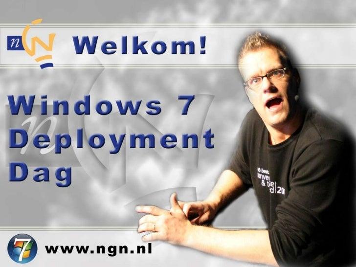 Automated Installation en Deployment            Windows 7