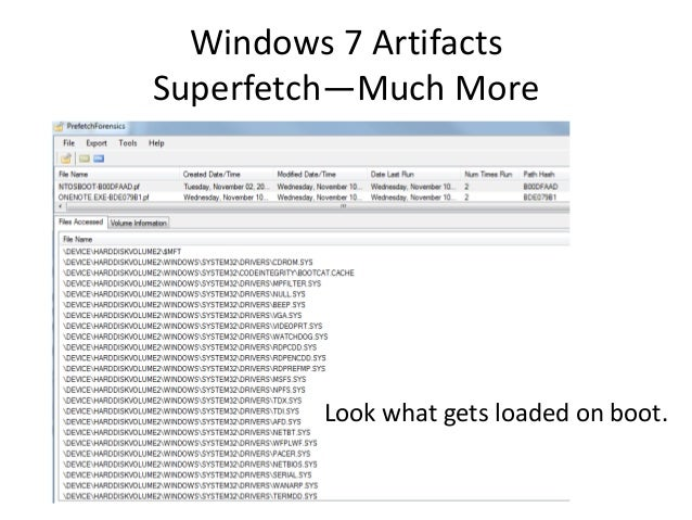Windows 7 forensics -overview-r3